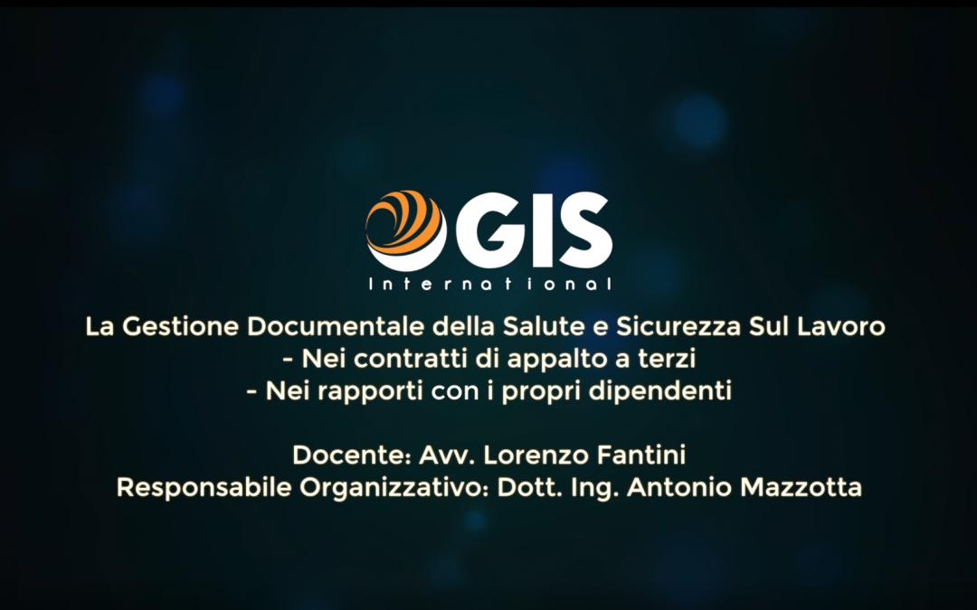 La Gestione Documentale della Salute e Sicurezza sul lavoro – Racconto dell'evento