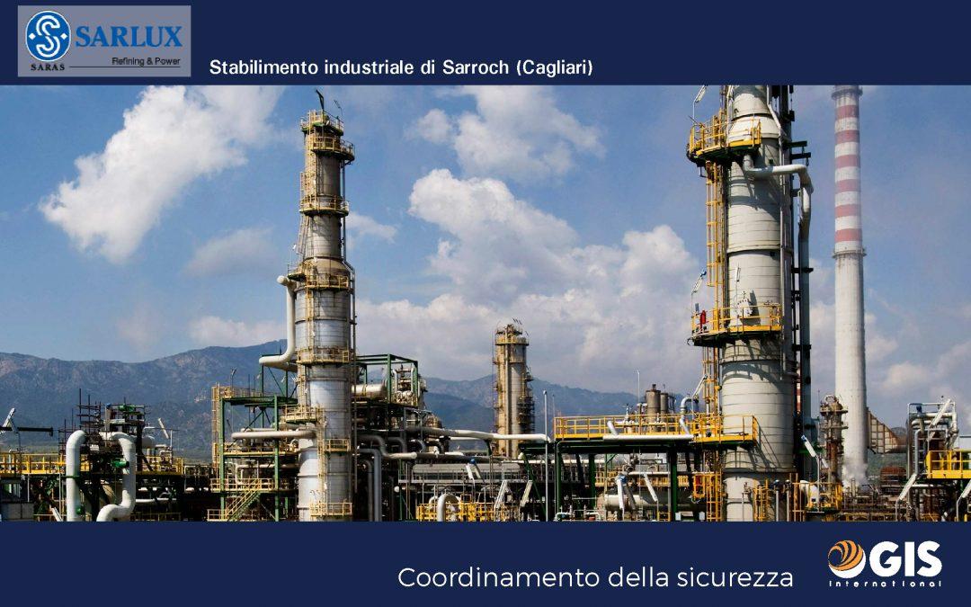 Coordinamento della sicurezza per Sarlux (Sarroch – CA)