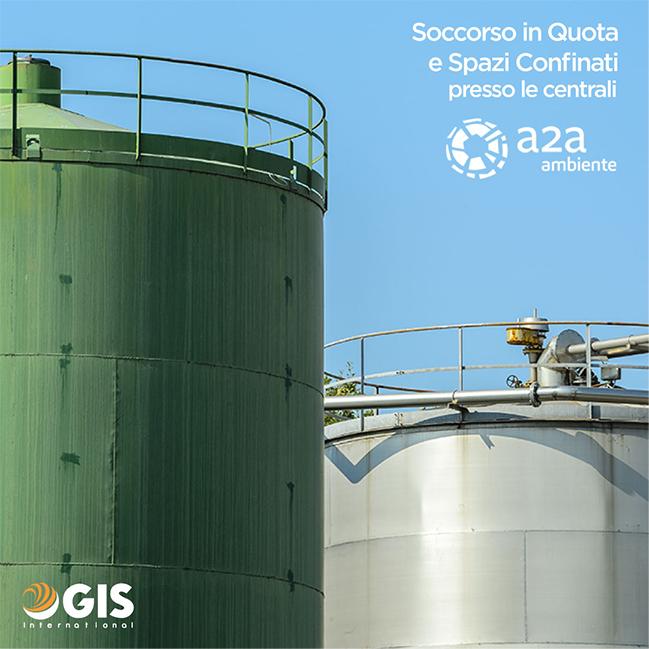 GIS International si aggiudica il contratto triennale per le attività di Soccorso in Quota e Spazi Confinati